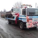 RRS Recovery accident unit