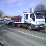 RRS Recovery Iveco 12T Two cars