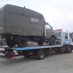 RRS Recovery Iveco with camper