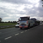 RRS Recovery Towing a FTR Bendybus A64 York