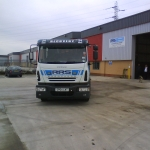 RRS Recovery Iveco 12T Slidebed