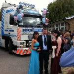 RRS Recovery Arkroyal at Barlby High School Prom 2011