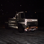 RRS Recovery Volvo Snowy night